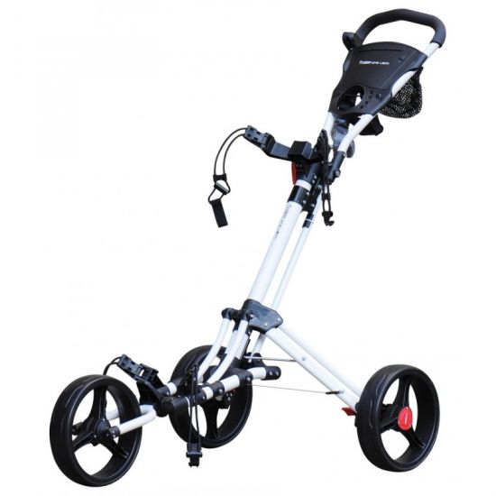 TROLEM - Chariot One Lock Blanc + Housse Transport (3 roues)