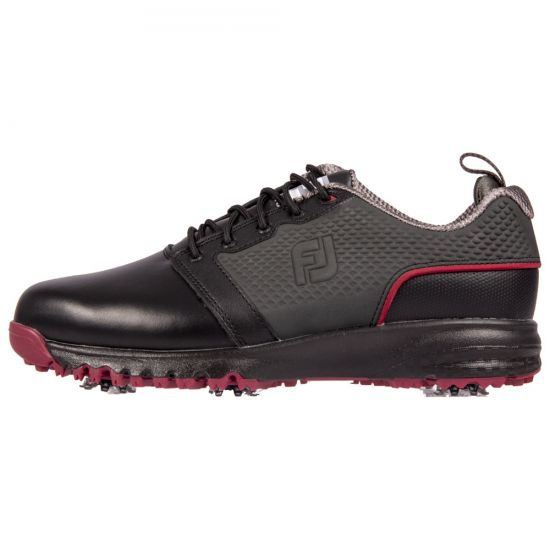 FOOTJOY - Contour Fit 54164 Noir/Rouge Homme