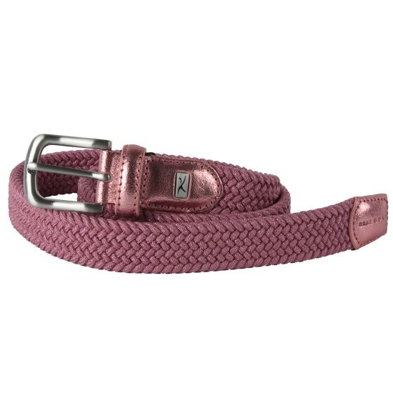 shopping 100% high quality new images of BRAX GOLF - Ceinture Tressée Rose/85 Femme -