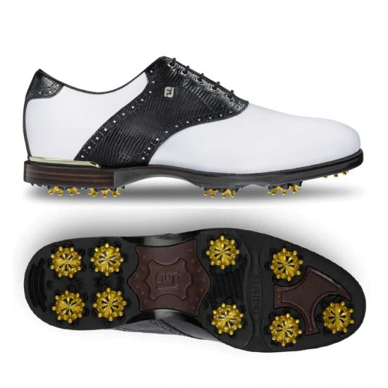 FOOTJOY - FJ Icon Black 52007 Blanc/Noir Homme