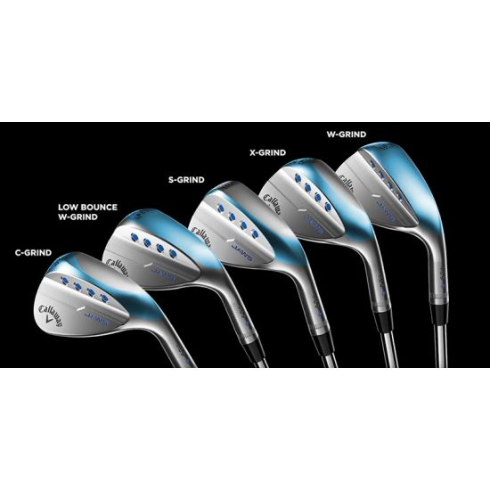 CALLAWAY - Wedge JAWS Mack Daddy 5 Chrome Acier
