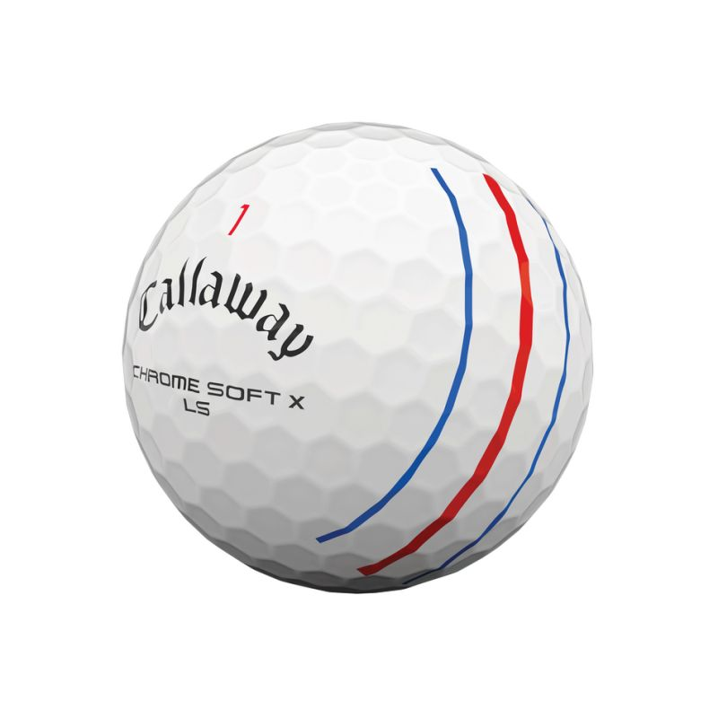 CALLAWAY - 12 Balles de golf Chrome Soft X LS Triple Track