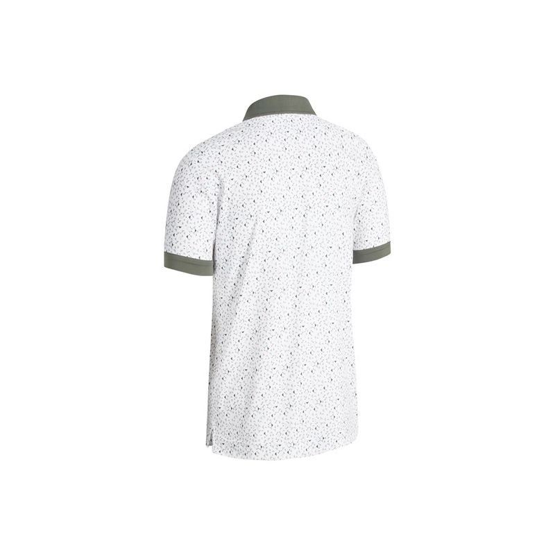 CALLAWAY - Polo Gradient Color Block CGKSB095 Blanc/100 Homme