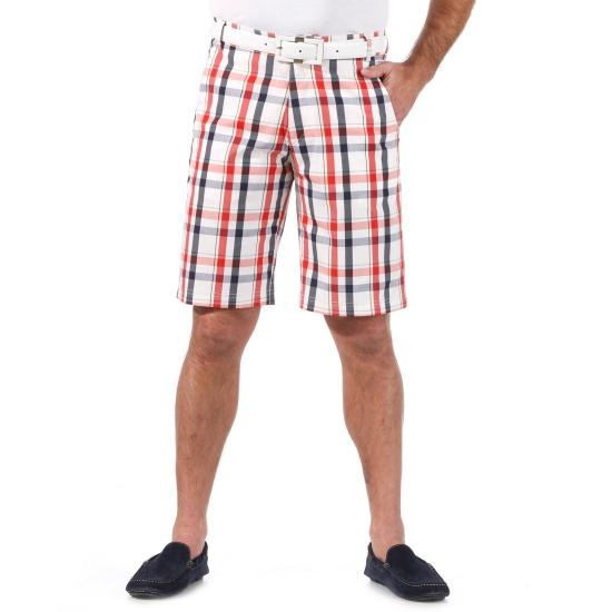 GOLFINO - Bermuda Stretch Check Homme 6164212