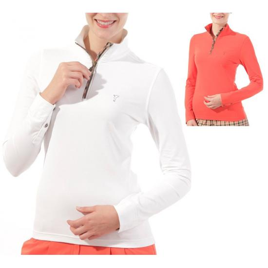 GOLFINO - Polo 1/2 Zip Jersey 7130224 Lady 2013