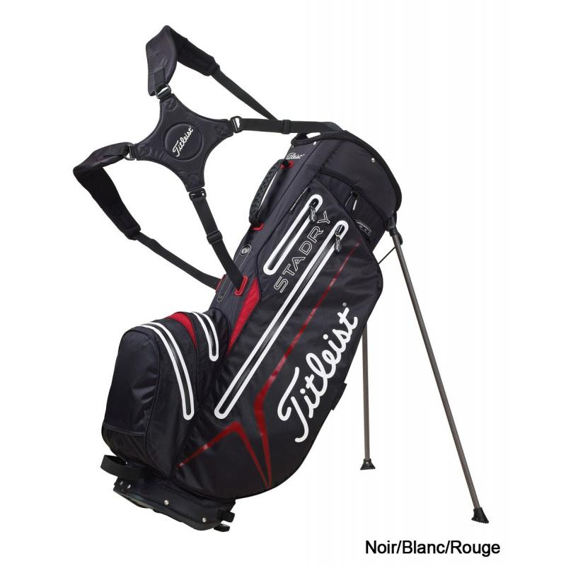 titleist sac de golf tr pied tb3sx6 stadry waterproof 2013. Black Bedroom Furniture Sets. Home Design Ideas