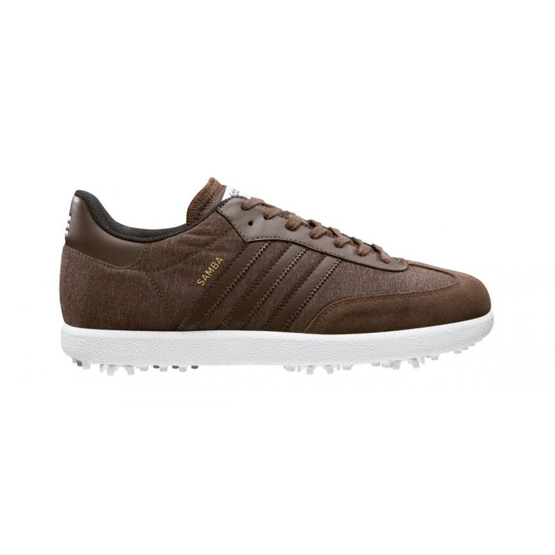 adidas chaussures de golf samba 671930 homme achat prix golf des marques. Black Bedroom Furniture Sets. Home Design Ideas