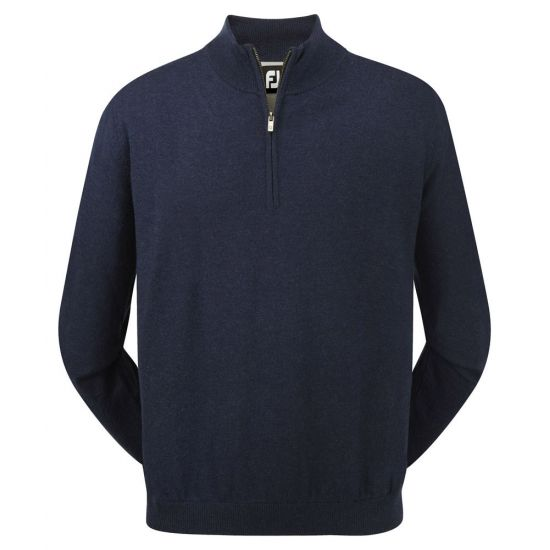 FOOTJOY - Pull 1/2 Zip Coupe Vent 95391 Marine H17 Homme