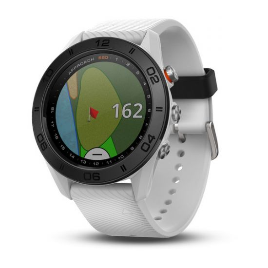 GARMIN - Montre GPS Approach S60 (Edition Blanche)