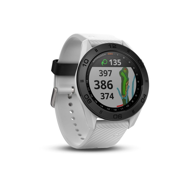 garmin montre gps approach s60 blanche achat prix montre garmin s60 blanche golf des marques. Black Bedroom Furniture Sets. Home Design Ideas