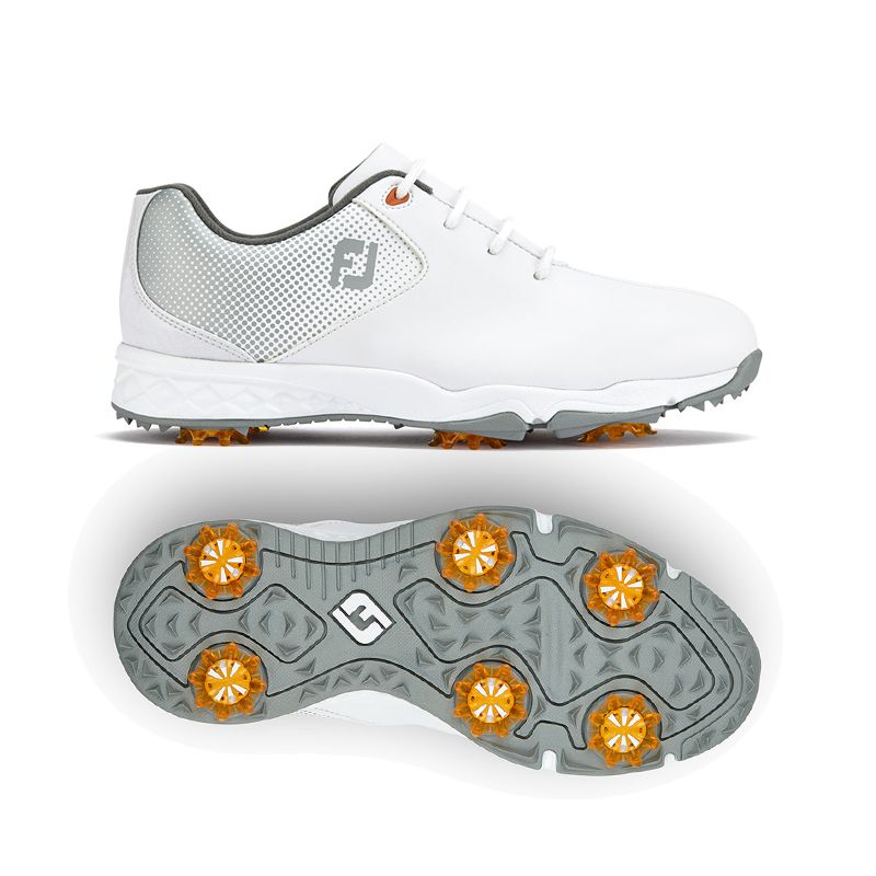 c42d4ea6352f2 FOOTJOY DNA Helix Junior 45002 Blanc (Mixte) 2018   Achat