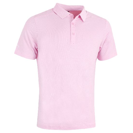 CALLAWAY - Polo HEX Opti Stretch CGKS8098 Rose/694 E18 Homme