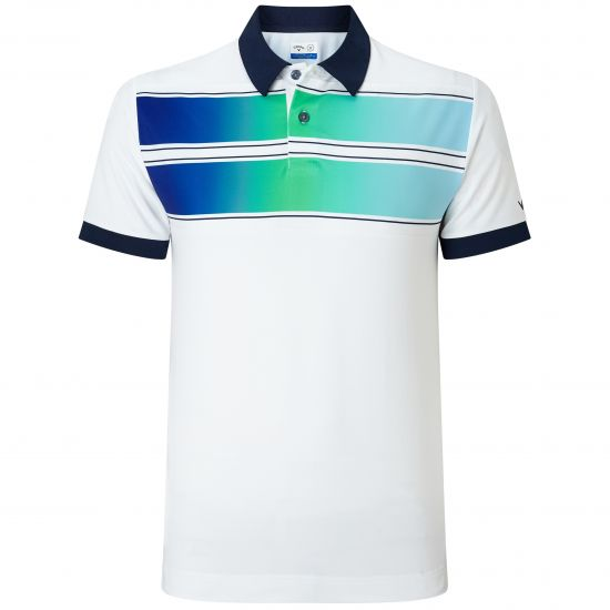 CALLAWAY - Polo Double Chest CGKS8086 Blanc/100 E18 Homme