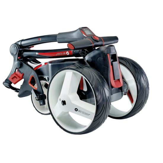 MOTOCADDY - Chariot Electrique M1 2019 Blanc (Lithium)