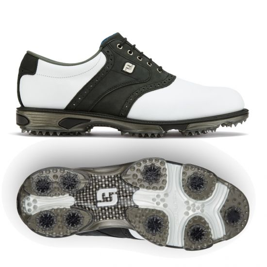 quality design 336dd f38d5 FOOTJOY - DryJoys Tour 53752 Blanc Noir Homme
