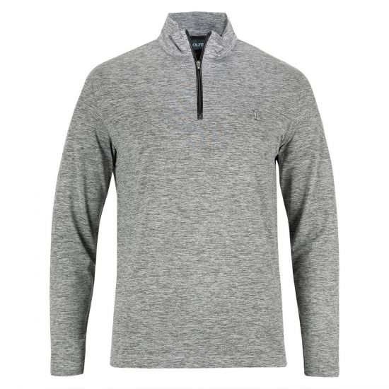 GOLFINO - Polo ML Cold Protection 3339316 Gris Chiné/808 H18 Homme