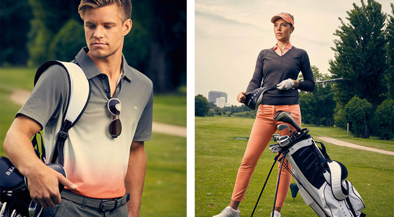 Collection Brax golf printemps été 2018
